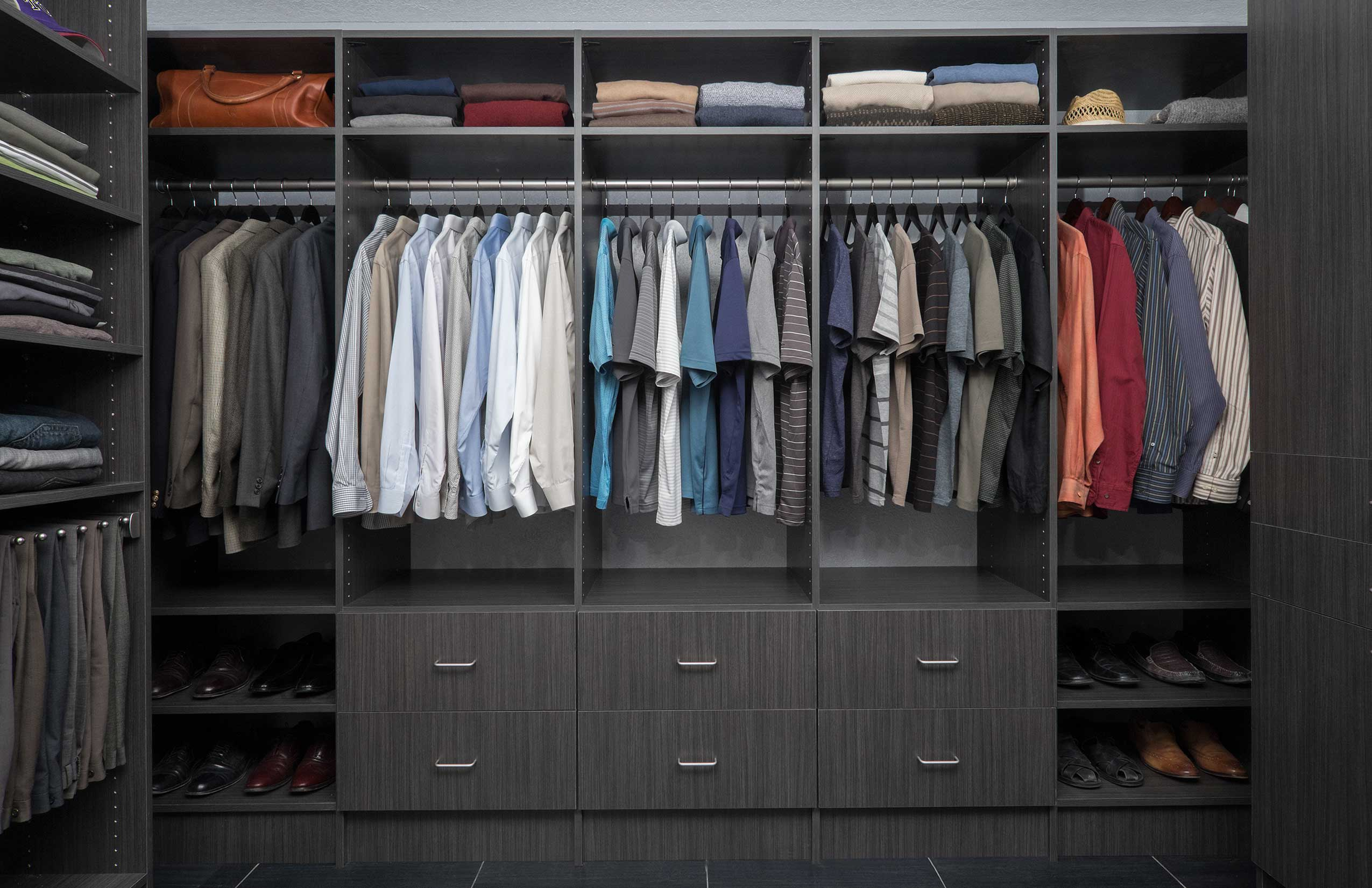 Easy to follow tips for designing phoenix walk in closets - Closet designs ...