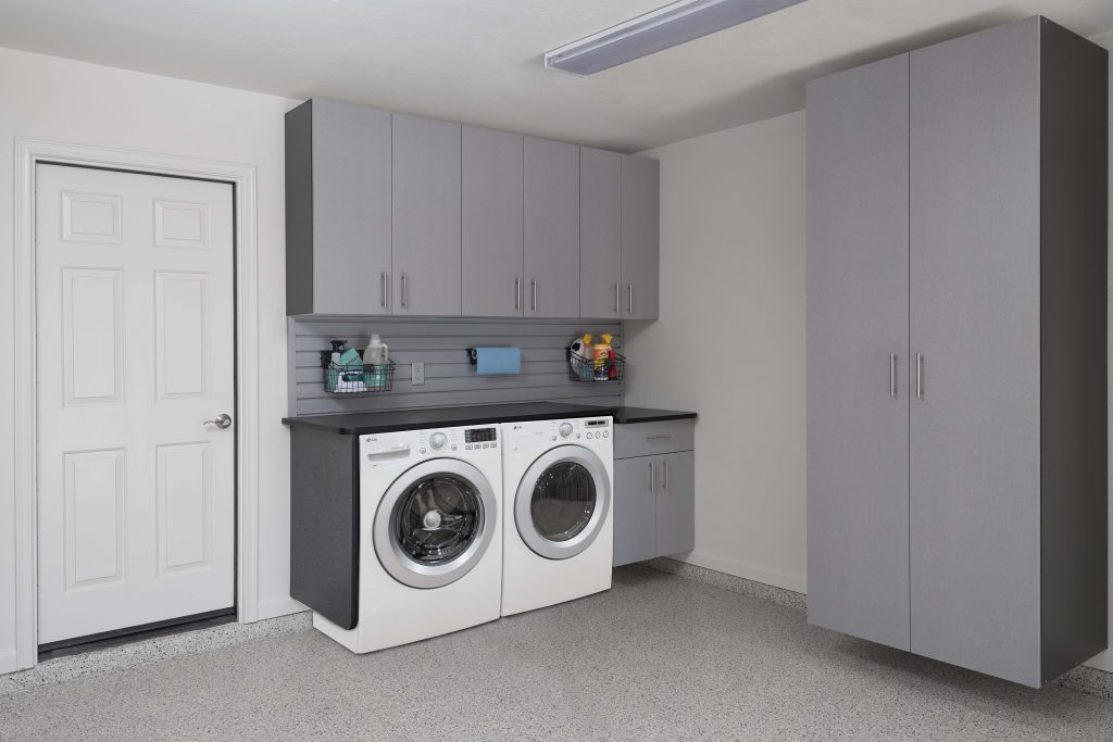 Move Your Laundry Room To The Garage To Save Space