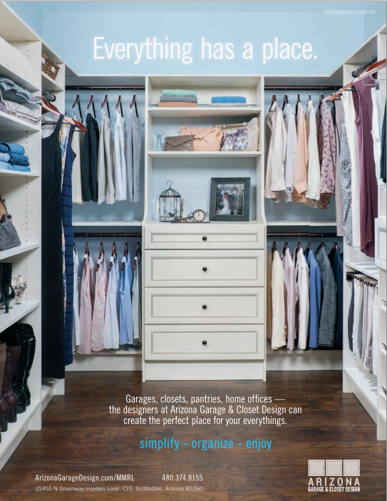 Life At Mcdowell Mountain Features Agcd Custom Closets Arizona