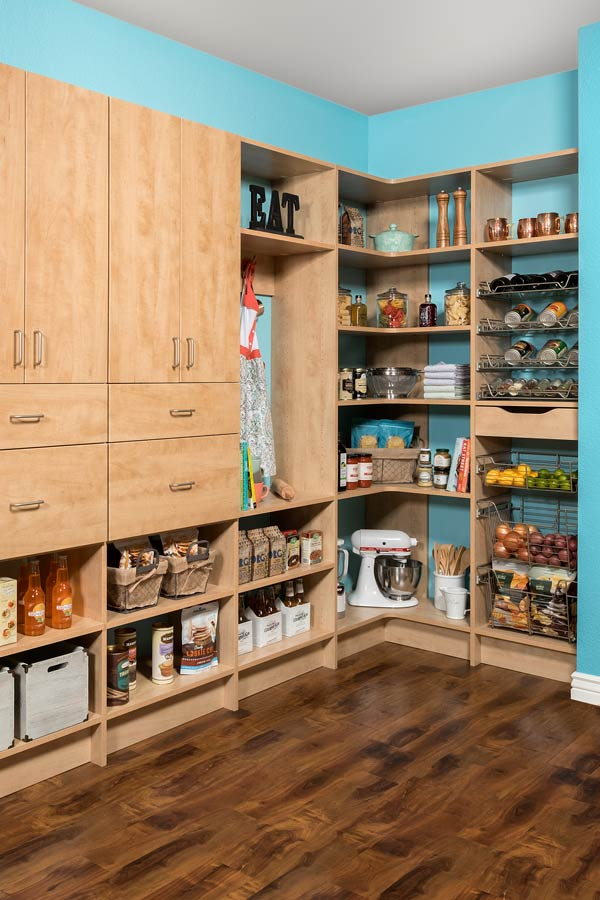 Custom Pantry Cabinets & Organization Systems in Phoenix