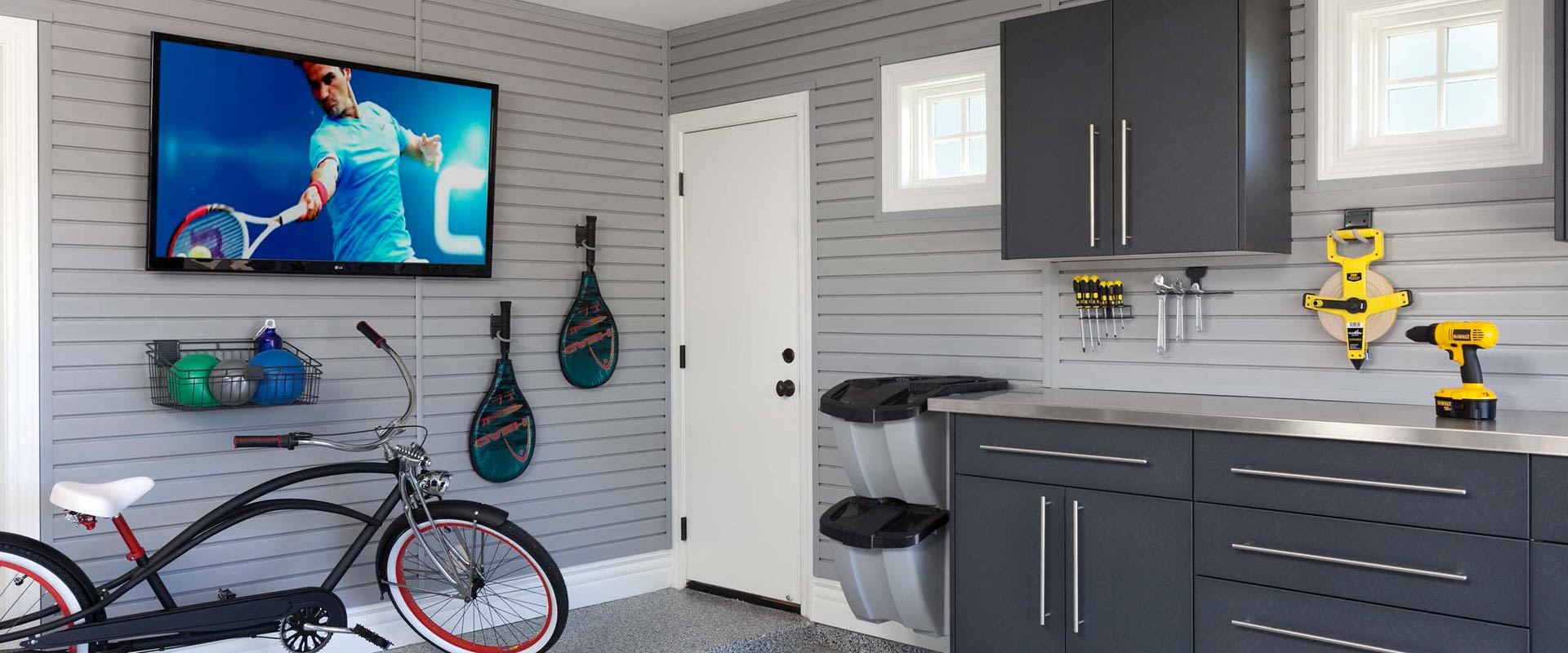All About Custom Garage Cabinet Organization